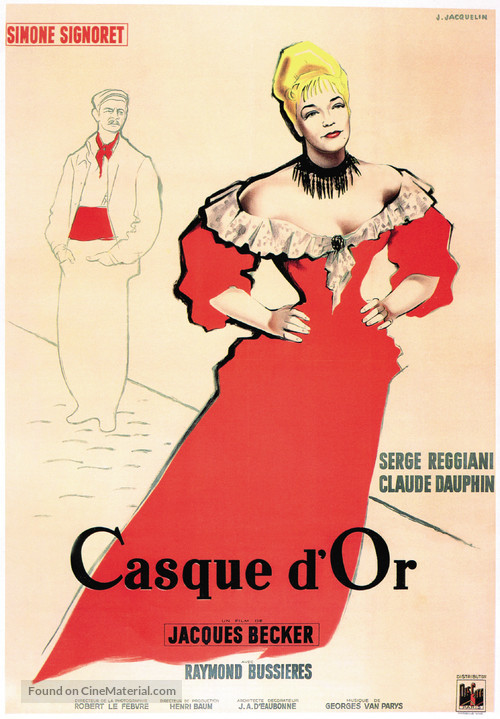 Casque d'or - French Movie Poster