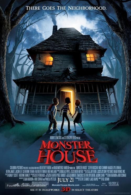 Monster House - Advance movie poster