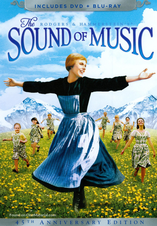The Sound of Music - DVD movie cover