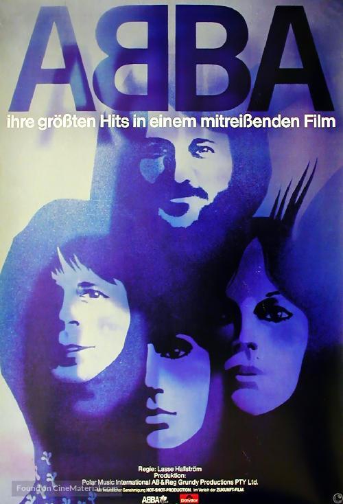 ABBA: The Movie - German Movie Poster