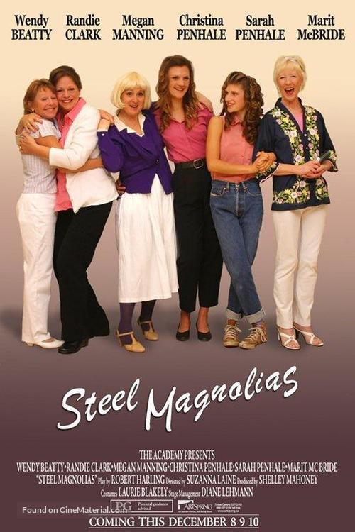 Steel Magnolias - Movie Poster