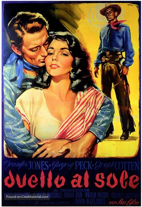 Duel in the Sun - Italian Movie Poster