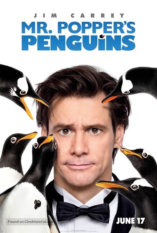 Mr. Popper's Penguins - Movie Poster