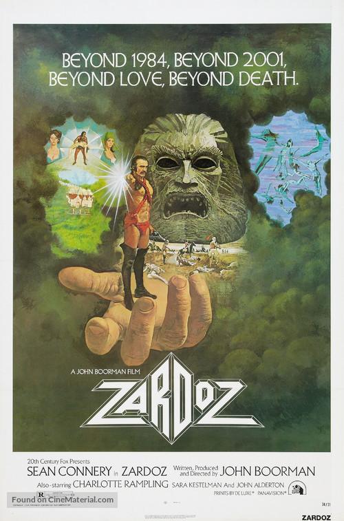 Zardoz - Theatrical movie poster