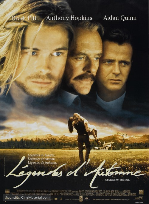 Legends Of The Fall - French Movie Poster