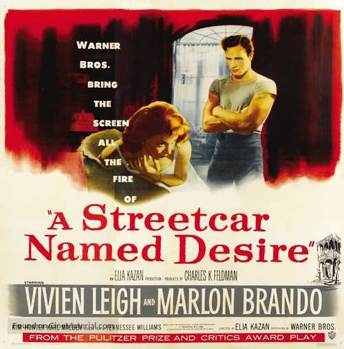 A Streetcar Named Desire - Theatrical movie poster