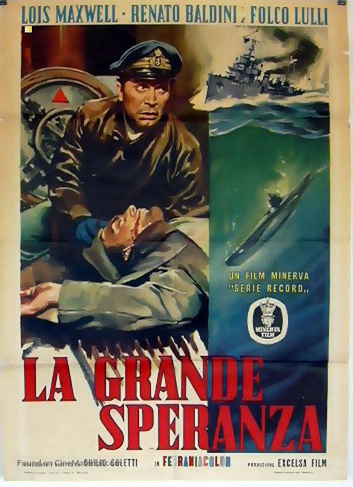 La grande speranza - Italian Movie Poster