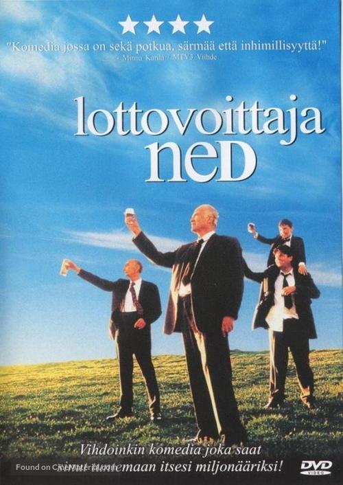 Waking Ned - Finnish poster