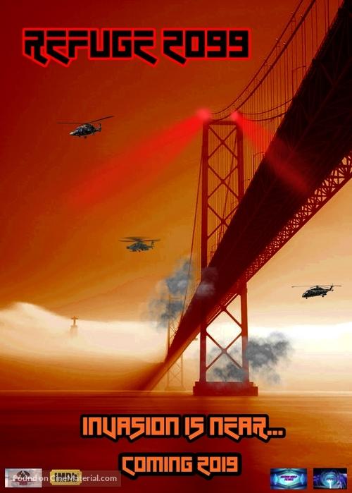 Refúgio 2099 - Portuguese Movie Poster