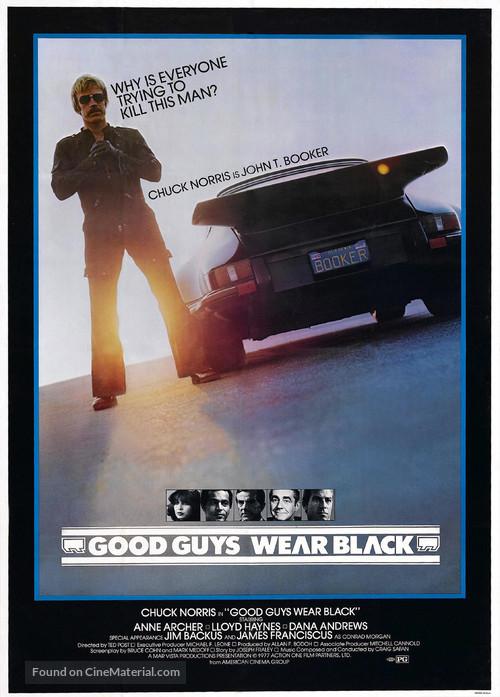 Good Guys Wear Black - Movie Poster