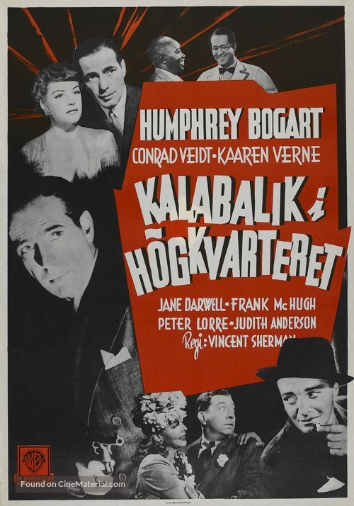 All Through the Night - Swedish Movie Poster