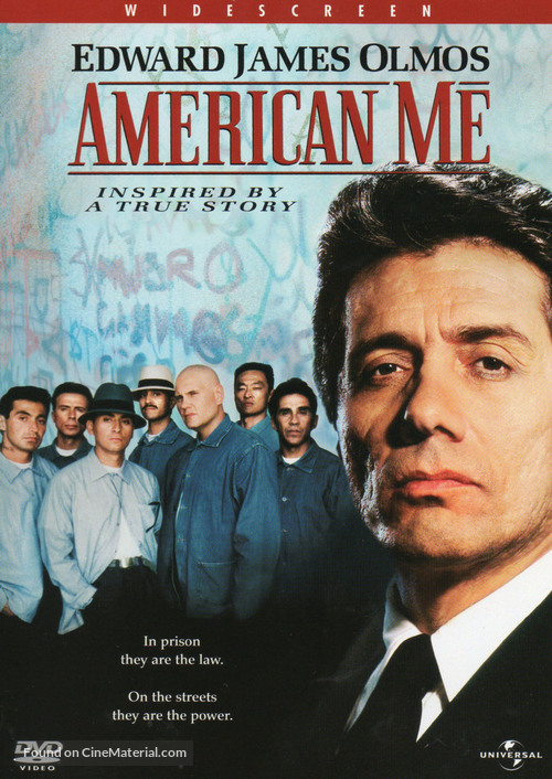 American Me - DVD movie cover