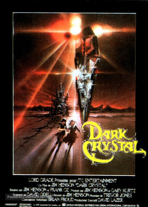The Dark Crystal - French Movie Poster