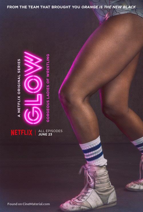 """GLOW"" - Movie Poster"