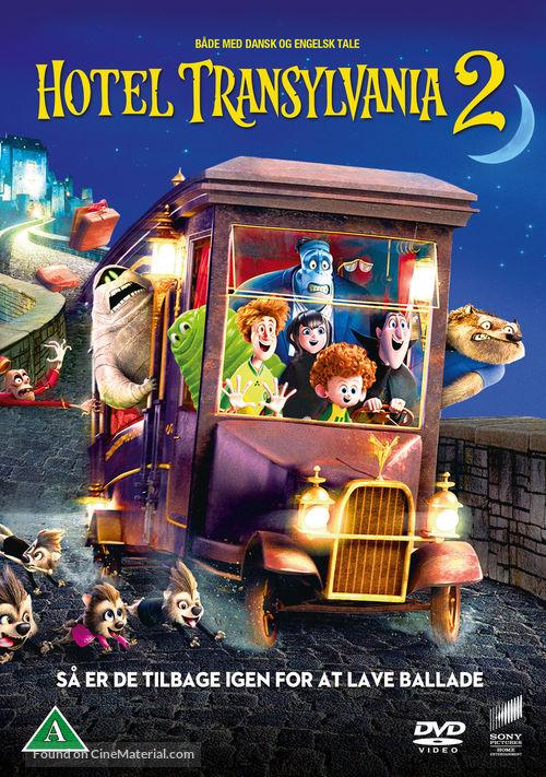 Hotel Transylvania 2 2015 Danish Movie Cover