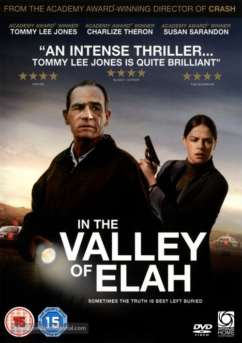 In the Valley of Elah - British DVD movie cover
