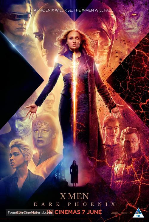 Dark Phoenix - South African Movie Poster