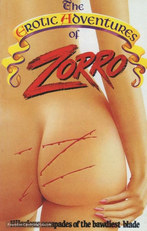 The Erotic Adventures of Zorro - Movie Cover