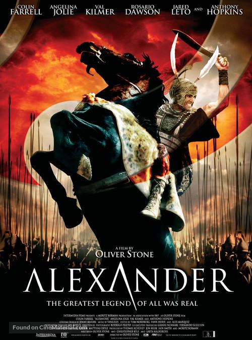 Alexander - Danish Movie Poster