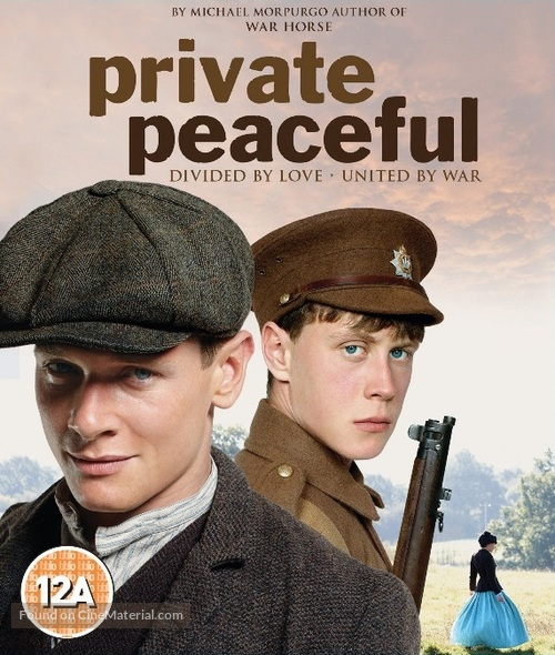Private Peaceful - British Blu-Ray movie cover
