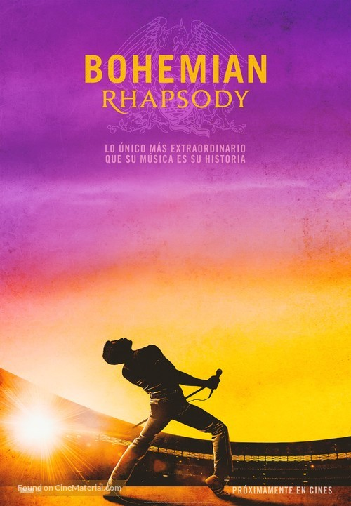 Bohemian Rhapsody - Spanish Movie Poster