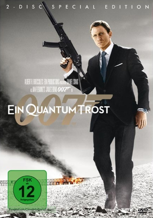 Quantum of Solace - German Movie Cover