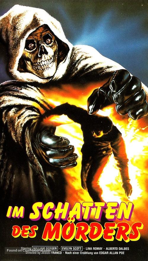 La noche de los asesinos - German VHS movie cover