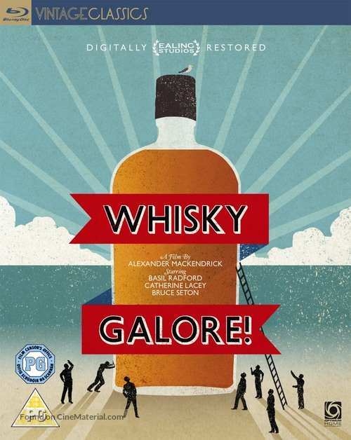 Whisky Galore! - British Blu-Ray movie cover