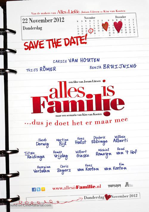 Alles is familie - Dutch Movie Poster