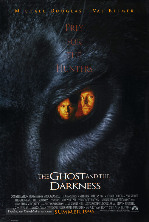 The Ghost And The Darkness - Movie Poster