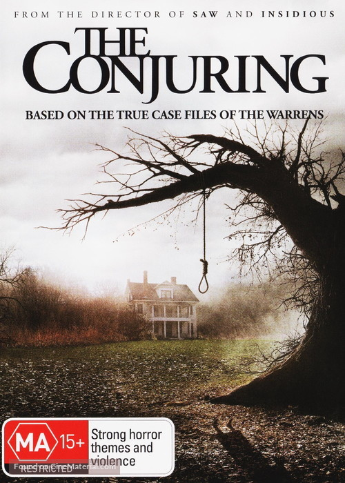 The Conjuring - Australian DVD movie cover