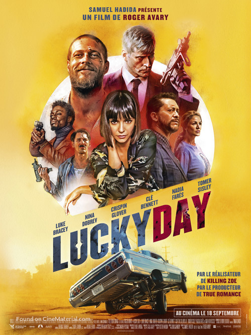 Lucky Day - French Movie Poster