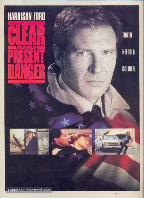 Clear And Present Danger 1994 Movie Poster
