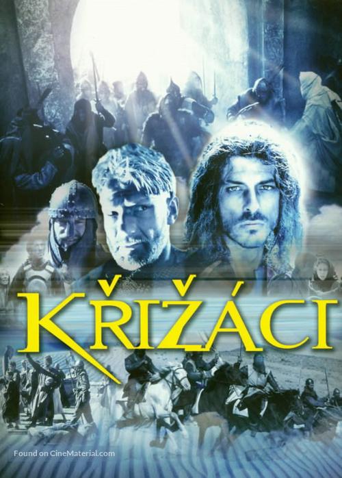 """""""Crociati"""" - Czech DVD movie cover"""