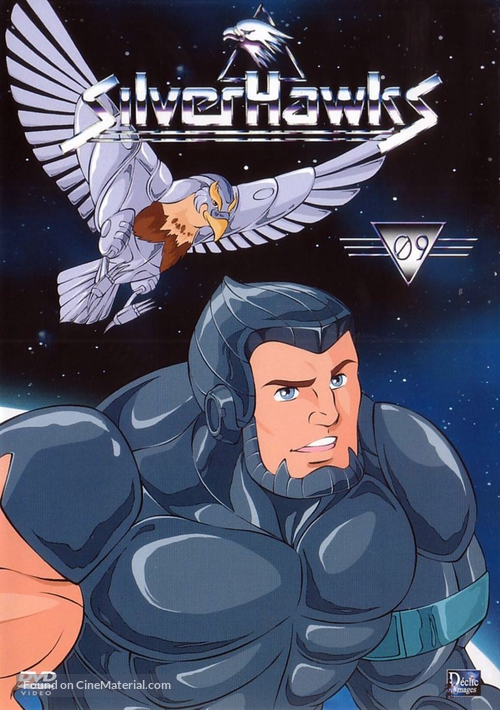 """""""Silverhawks"""" - French Movie Cover"""