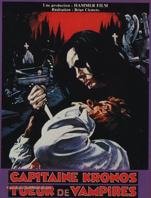 Captain Kronos - Vampire Hunter - French Movie Poster