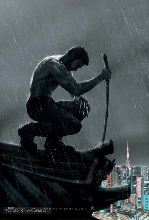 The Wolverine - Movie Poster