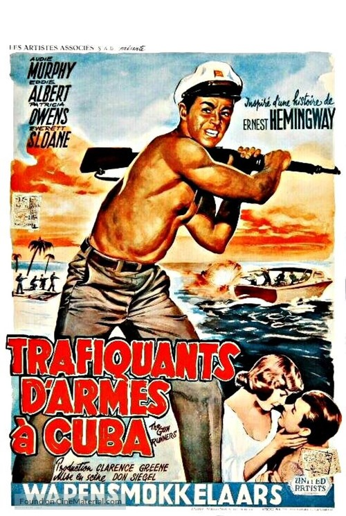 The Gun Runners - Belgian Movie Poster