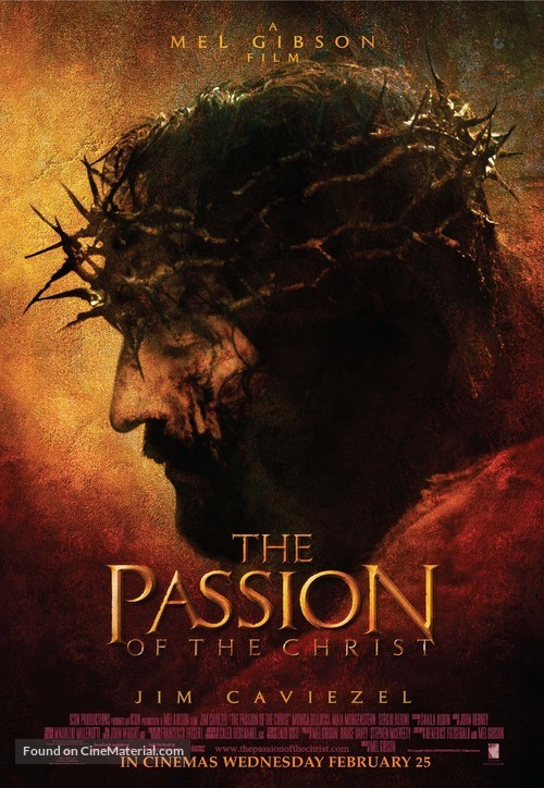 The Passion of the Christ - British Movie Poster