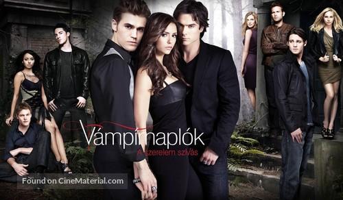 """The Vampire Diaries"" - Hungarian Movie Poster"