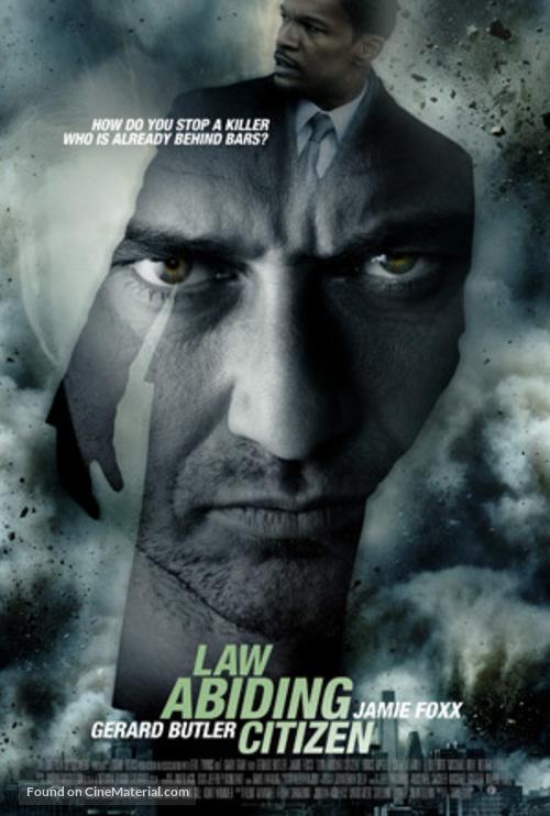 Law Abiding Citizen - Movie Poster