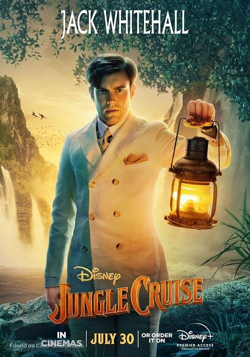 Jungle Cruise - British Movie Poster