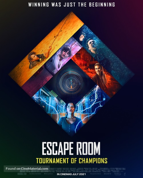 Escape Room: Tournament of Champions - Indian Movie Poster