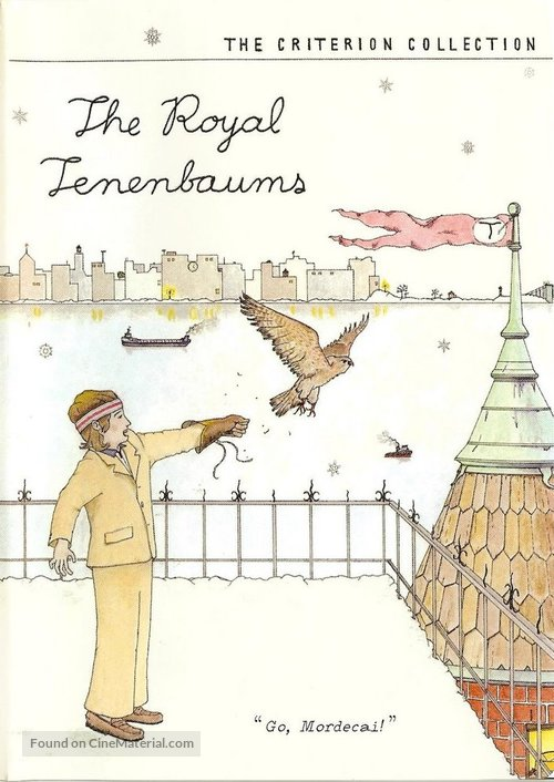 The Royal Tenenbaums - DVD movie cover