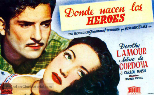 A Medal for Benny - Spanish Movie Poster