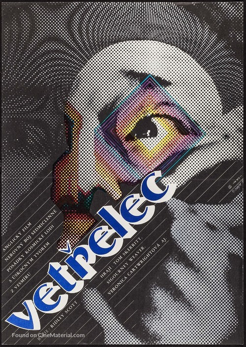 Alien - Czech Movie Poster