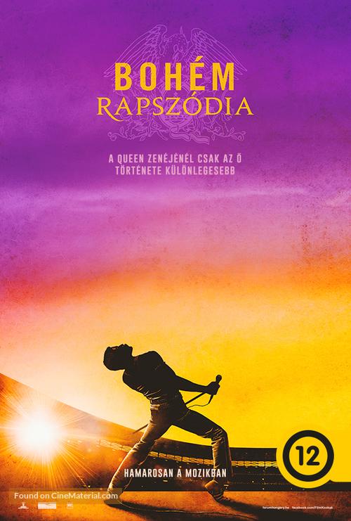 Bohemian Rhapsody - Hungarian Movie Poster