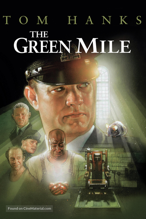 The Green Mile - DVD movie cover