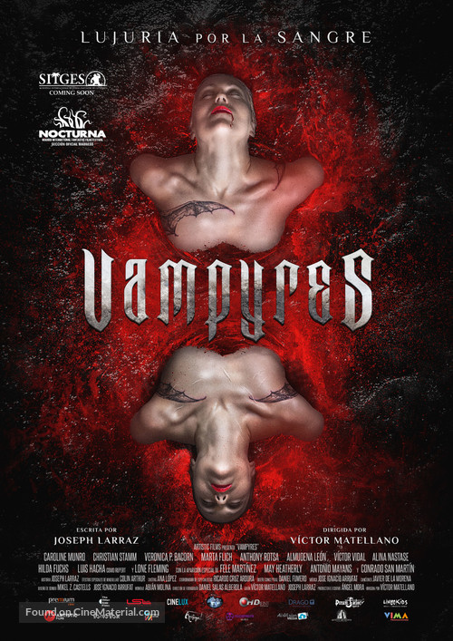 Vampyres - Spanish Movie Poster