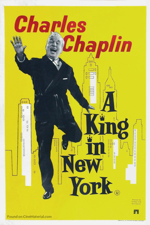 A King in New York - British Movie Poster